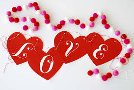 valentine u0027s day love banner skip to my lou