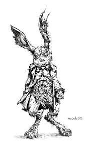 13 rabbitart images alice wonderland