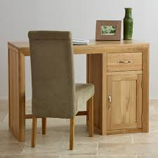 Solid Computer Desk by Bevel Natural Solid Oak Computer Desk By Oak Furniture Land