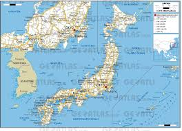 World Map Japan by Geoatlas Countries Japan Map City Illustrator Fully