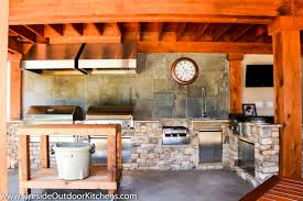 Outdoor Kitchens Pictures by Fireside Outdoor Kitchen Spotlight A Serious Cook U0027s Second