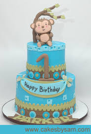 monkey theme 1st birthday party super cute first birthday cakes