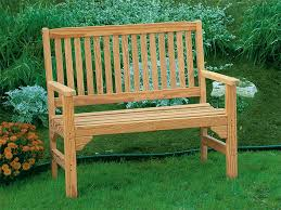 Wooden Garden Bench Plans by 25 Original Outdoor Wooden Garden Benches Pixelmari Com
