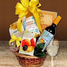 Wine And Chocolate Gift Baskets Mango Wine Gift Basket