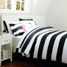 Striped Comforter Black And White Striped Bedding Get Ideas On Super King Size