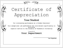 7 certificate of appreciation templates certificate templates