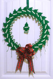christmas wreath made from pine tree air fresheners christmas