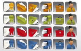 icone bureau gratuit collection d icônes de bureau dossier bureau entreprise carte