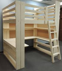 College Loft Bed Plans Free by Best 25 Bunk Bed With Desk Ideas On Pinterest Girls In Bed