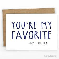 dad favorite father u0027s day card kraft envelopes card stock and