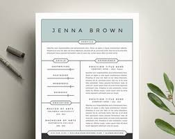 Word Resume Cover Letter Template Creative Resume Template And Cover Letter Template For Word