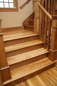birdseye maple stairs sustainably harvested and milled by hull