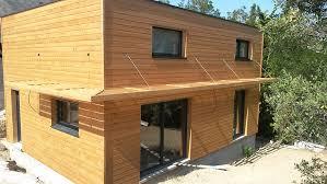 maison ossature bois moderne et cubique la maison bois par