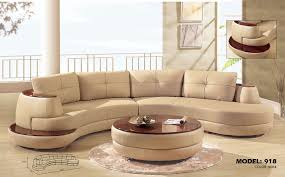 sectional sofa beautiful rounded sectional sofa 2017 soft brown