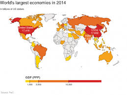 map us states world economies what the world will be like in 2050 in eight maps and charts