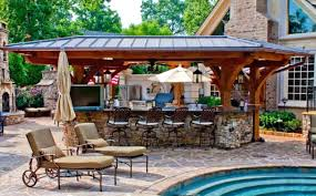 backyard kitchen designs arcadia design group centennial
