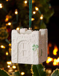 belleek bunratty castle bell ornament i want this all things