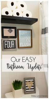 Bathroom Updates Ideas The 25 Best Easy Bathroom Updates Ideas On Pinterest Bathroom