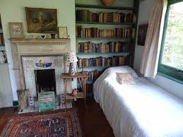 Library Bedroooms Monk U0027s House Virginia Woolf U0027s Bedroom Los Escritores Duermen