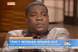 tracy morgan breaks down on today show as he remembers james