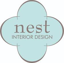 interior design logo artistic tile nest interior design