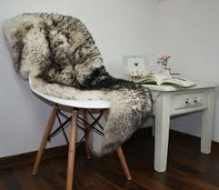 Xl Area Rugs Sheepskin Rug Xl Black Whit Genuine Leather Mouflon Area