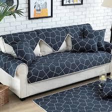 housse pour canapé angle 1 pcs coton housse de canapé serviette coupe housse canapés moderne