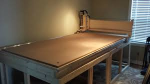 Cnc Plasma Cutter Plans My Home Built 4x8 Cnc The Table Is Nothing To Look At But Damn I