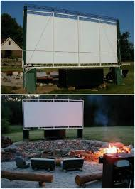 How To Make A Backyard Movie Theater 35 Ridiculously Fun Diy Backyard Games That Are Borderline Genius