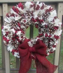 16 best rag wreaths images on rag wreaths burlap