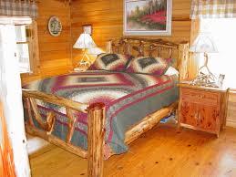 Log Bedroom Furniture Rustic Log Beds Twisted Juniper Beds