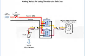 wiring diagram relay power window wiring diagram