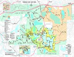 penn state park map promised land state park promised land state park map