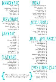 wedding registration list best 25 wedding registry list ideas on wedding
