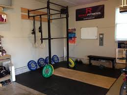 a great garage gym with lifting platform and w 4 rig garage