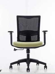 swivel mid back office mesh t shape armrest chair ch 133b buy