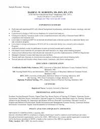 Policy Analyst Resume Sample by Visiting Nurse Cover Letter
