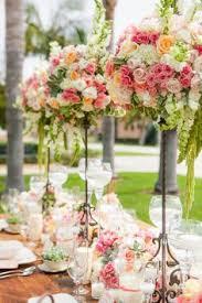 wedding ideas for stunning tall centerpieces floral arrangement