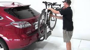 lexus rx truck review of the yakima swingdaddy 4 hitch bike rack on a 2010 lexus