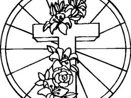 52 cross coloring pages religious christmas coloring pages