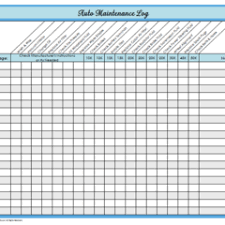Vehicle Service Sheet Template by Free Printable Vehicle Maintenance Log Template Exle Vlashed