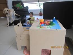 thea u0027s weaning table and chair how we montessori