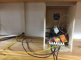garage door sensor wire raspberry pi garage door controller glumb