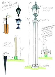 how to install outdoor light post installing l post medium size of home outdoor l post lights