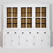 porte interieur en bois massif grand buffet vaisselier chic et moderne fabrication européenne