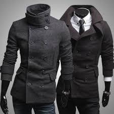 pea jacket men trends modern fashion styles
