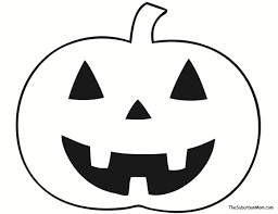 Halloween Cut Outs Pumpkin Halloween Countdown Craft Template For Kids Free