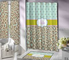 Cheetah Print Curtains by Brown And Mint Curtains Rare Curtain Il Fullxfull 669505850 Ajol