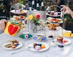 london u0027s best new afternoon teas