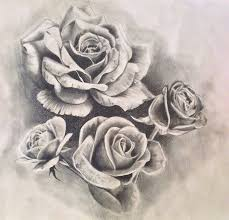 roses tattoo design drawing by pufferfishcat on deviantart